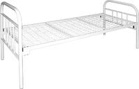 Кровать односпальная М180.29
